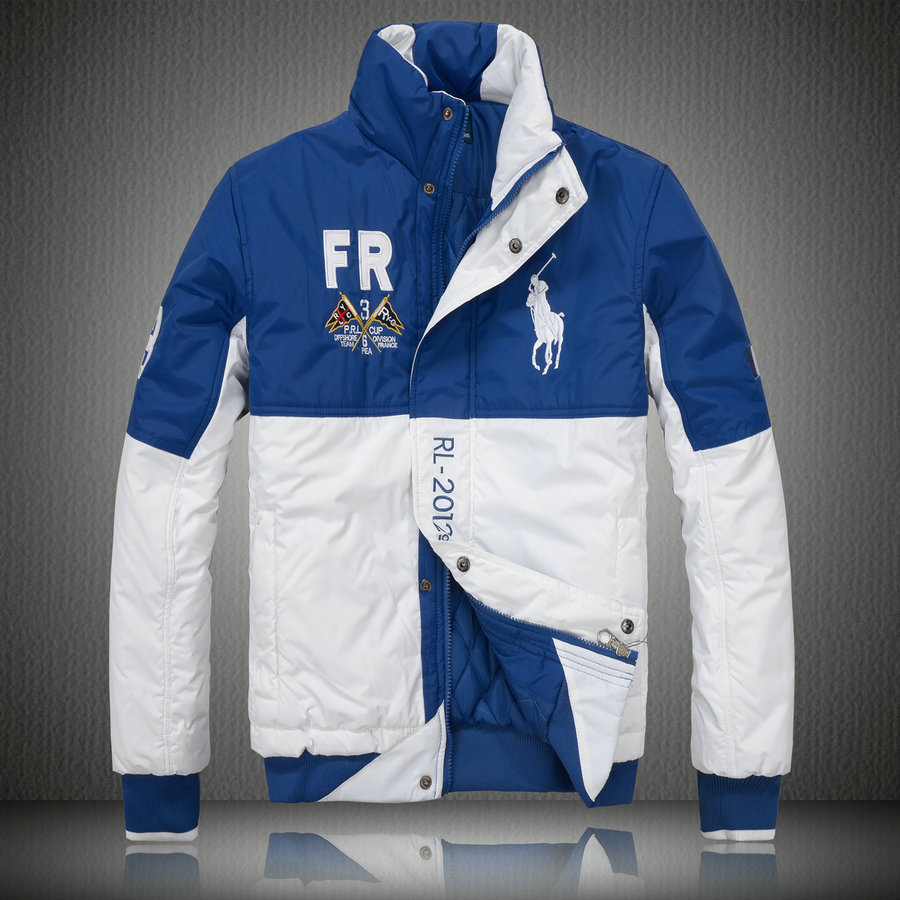 7e631522bf1e manteau hommes polo ralph lauren doudoune 2013 chaud big pony racing fr  blanc bleu